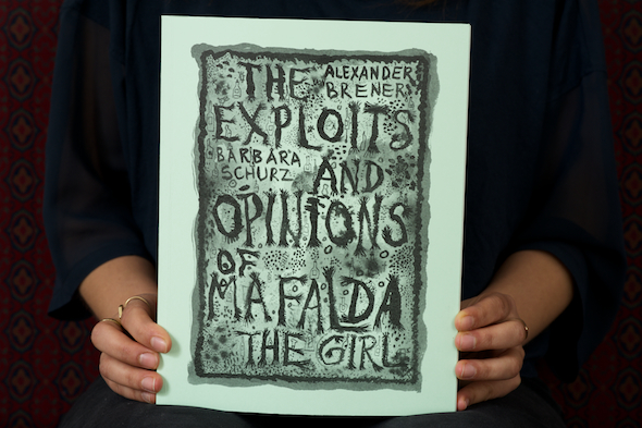 Alexander Brener and Barbara Schurz: The Exploits and Opinions of Mafalda, The Girl, 2014